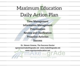 Maximum Education Daily Action Plan - Facebook